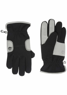 Timberland Men's Ribbed Sports Glove with Palm Patch black M