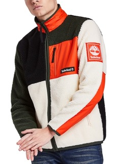 Timberland Men's Sherpa Fleece Colorblock Jacket