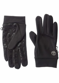 Timberland Men's Soft Shell Glove with Palm Grip black S/M