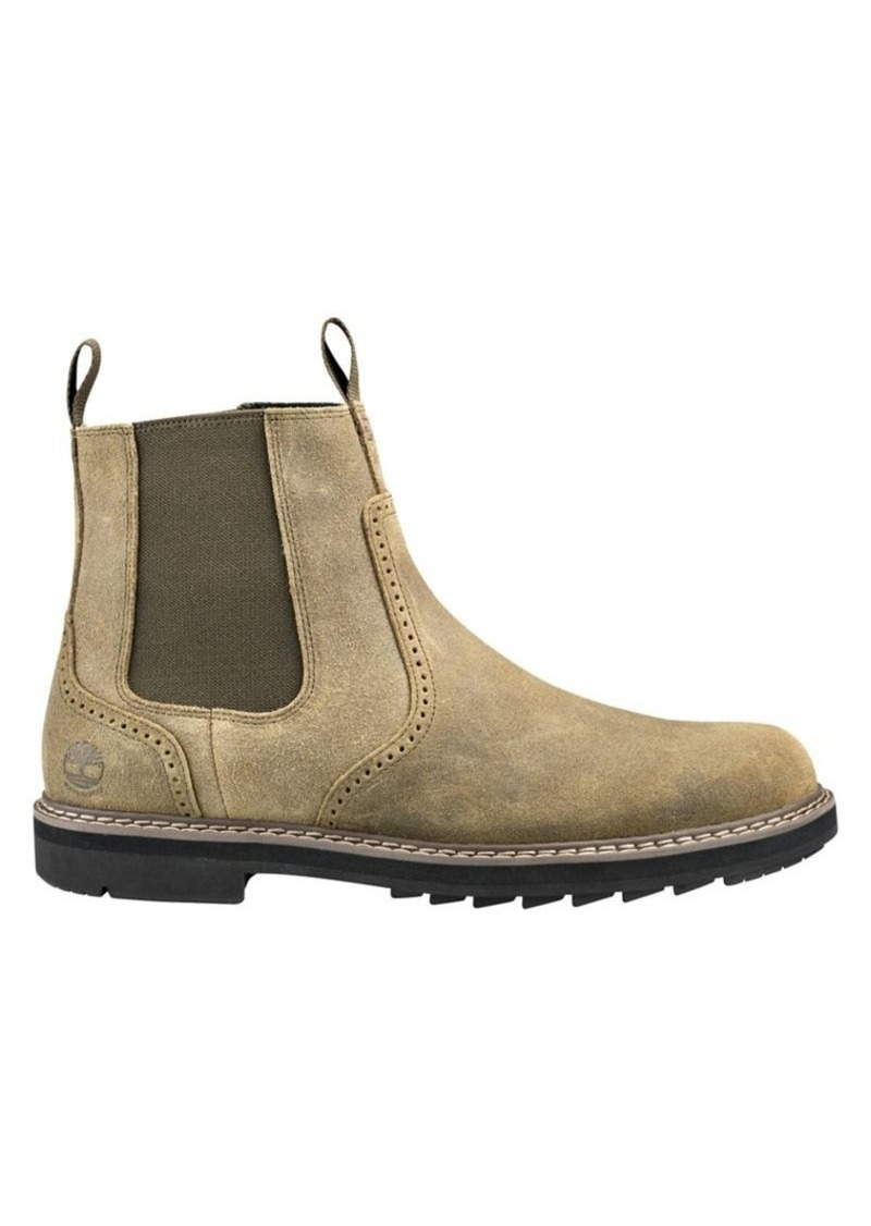 Timberland Men's Squall Canyon Leather Waterproof Chelsea Boots