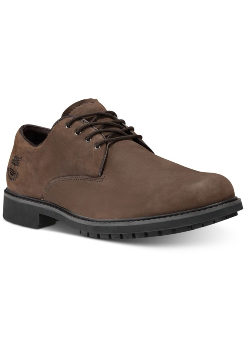 Timberland Men's Stormbuck Plain Toe Waterproof Derby Men's Shoes