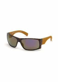 Timberland Men's TB9215 Polarized Square Sunglasses