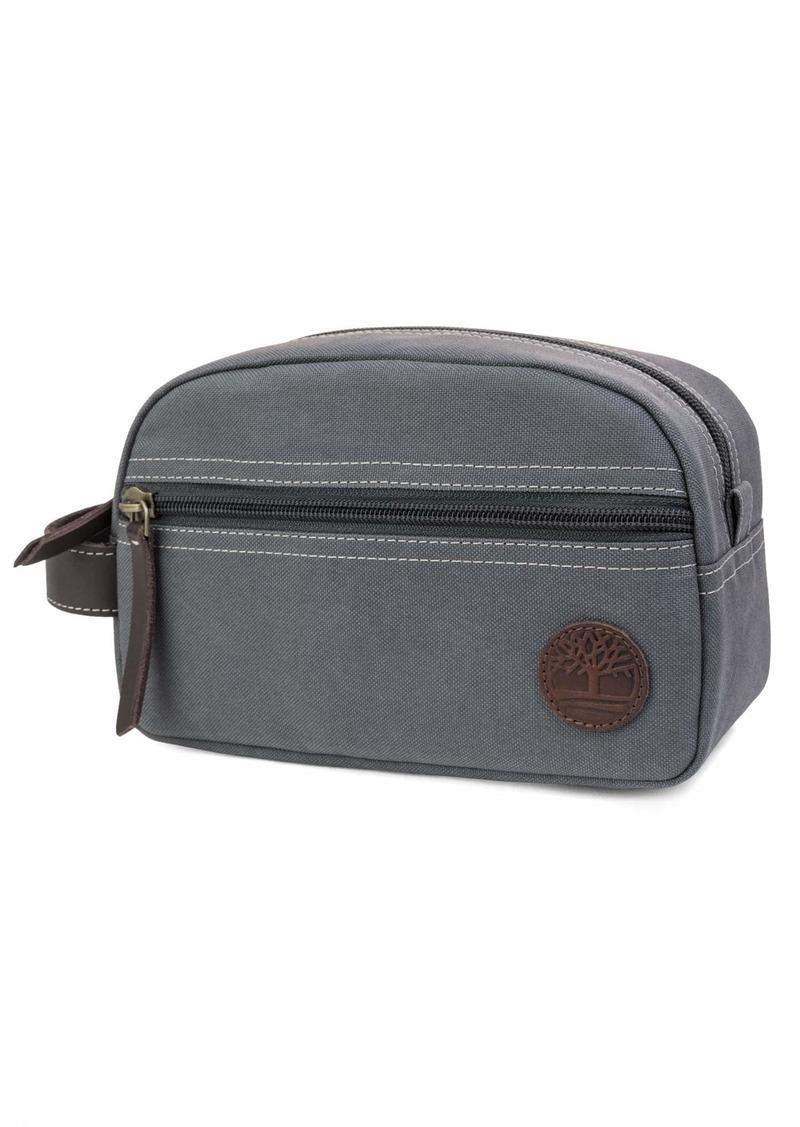 Timberland Men's Toiletry Bag Canvas Travel Kit Organizer
