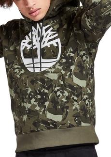 Timberland Men's Tree Camouflage Logo Hoodie