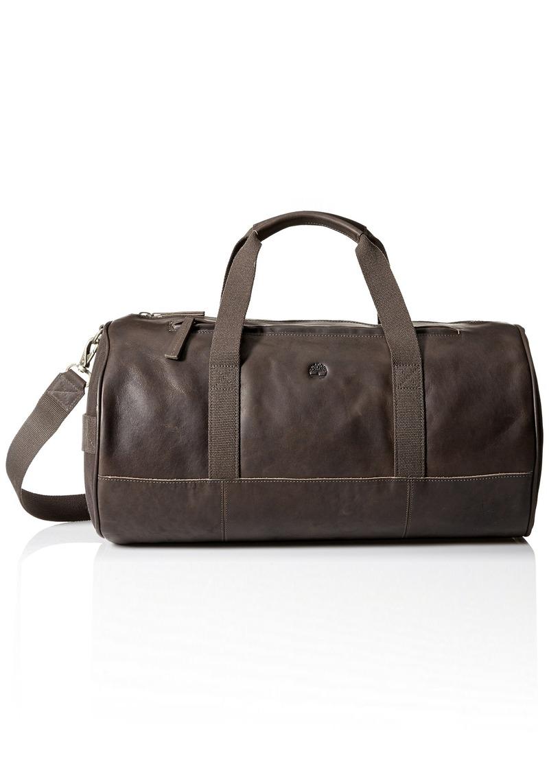 Timberland Men/'s Tuckerman Leather Duffel Bag