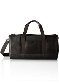 Timberland Men's Tuckerman Leather Duffel Black