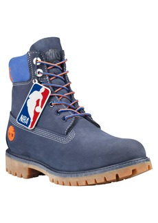 Timberland New York Knicks Plain Toe Boot (Men)