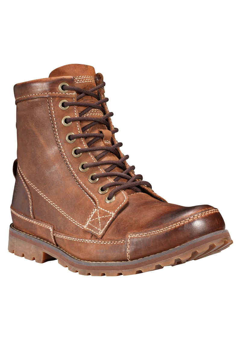 Timberland Earthkeepers® Original Mid Plain Toe Boot (Men)