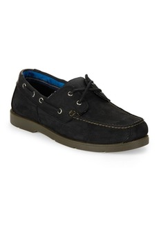 Timberland Piper Cove Leather Lace-Up Boat Shoes