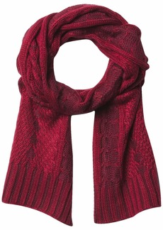 Timberland Plaited Cable Scarf  one size
