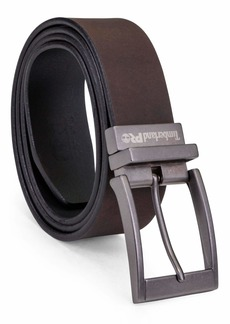 Timberland PRO Men's Big & Tall 38mm Harness Roller Reversible Leather Belt