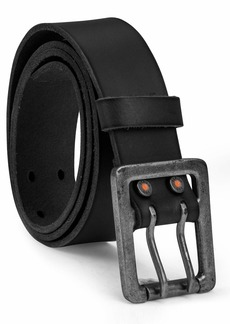 Timberland PRO Men's Big and Tall 42mm Double Prong Leather Belt