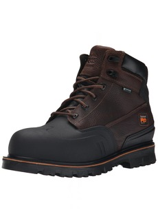 Timberland PRO Men's 6 Inch Rigmaster XT Steel Toe Waterproof Work Boot  8 W US