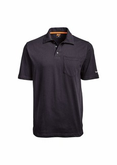 Timberland PRO Men's A1HP2 Base Plate Blended Short Sleeve Polo -  -