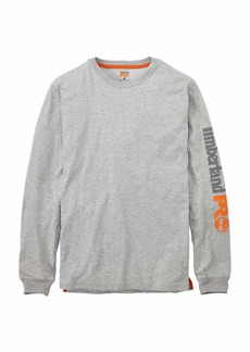 Timberland PRO Men's A1HRV Base Plate Long Sleeve T-Shirt with Logo -  -