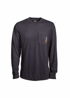 Timberland PRO Men's Base Plate Long Sleeve T-Shirt with Chest Pocket Big & Tall  3XL