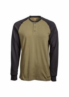 Timberland PRO Men's A1I39 Cotton Core Long-Sleeve Henley -  -