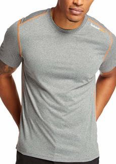 Timberland PRO Men's Wicking Good Sport Short-Sleeve T-Shirt  Grey Heather M