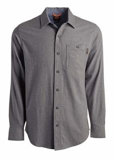 Timberland PRO Men's Woodfort Mid-Weight Flannel Work Shirt Big & Tall