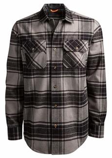 Timberland PRO Men's Woodfort Heavy-Weight Flannel Work Shirt  S