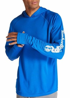 Timberland PRO mens Wicking Good Hoodie Hooded Sweatshirt Turkish Sea  US