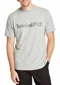 Timberland PRO mens Base Plate Short Sleeve T-shirt With Chest Logo T Shirt   US