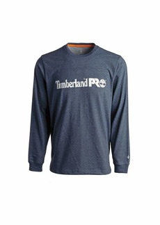 Timberland PRO Men's Base Plate Long Sleeve T-Shirt with Chest Logo Big & Tall  LT