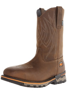 Timberland PRO Men's AG Boss Pull-On Alloy SQ Toe Work and Hunt Boot  10 W US