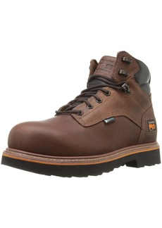 "Timberland PRO Men's Ascender 6"" Alloy Safety Toe Waterproof Industrial and Construction Shoe"