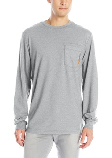 Timberland PRO Men's Big and Tall Base Plate Blended Long-Sleeve T-Shirt