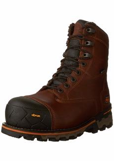 """Timberland PRO Men's Boondock 8"""" Composite Toe Puncture Resistant Waterproof Industrial Boot  7 W US"""