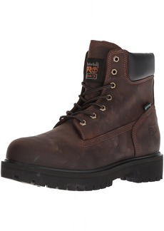 Timberland PRO Men's Direct Attach Six-Inch Soft-Toe Boot Brown Oiled Full-Grain