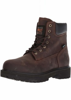 Timberland PRO Men's Direct Attach Six-Inch Soft-Toe Boot Brown Oiled Full-Grain M