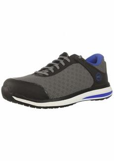 Timberland PRO Men's Drivetrain Composite Toe SD+ Industrial Boot Grey/Blue mesh  M US