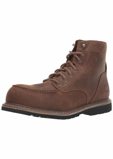 "Timberland PRO Men's Millworks 6"" Moc Composite Safety Toe Industrial Boot  12 W US"