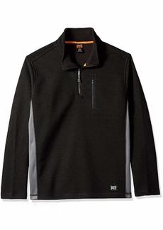 Timberland PRO Men's Studwall 1/4-Zip Textured Fleece Top  S