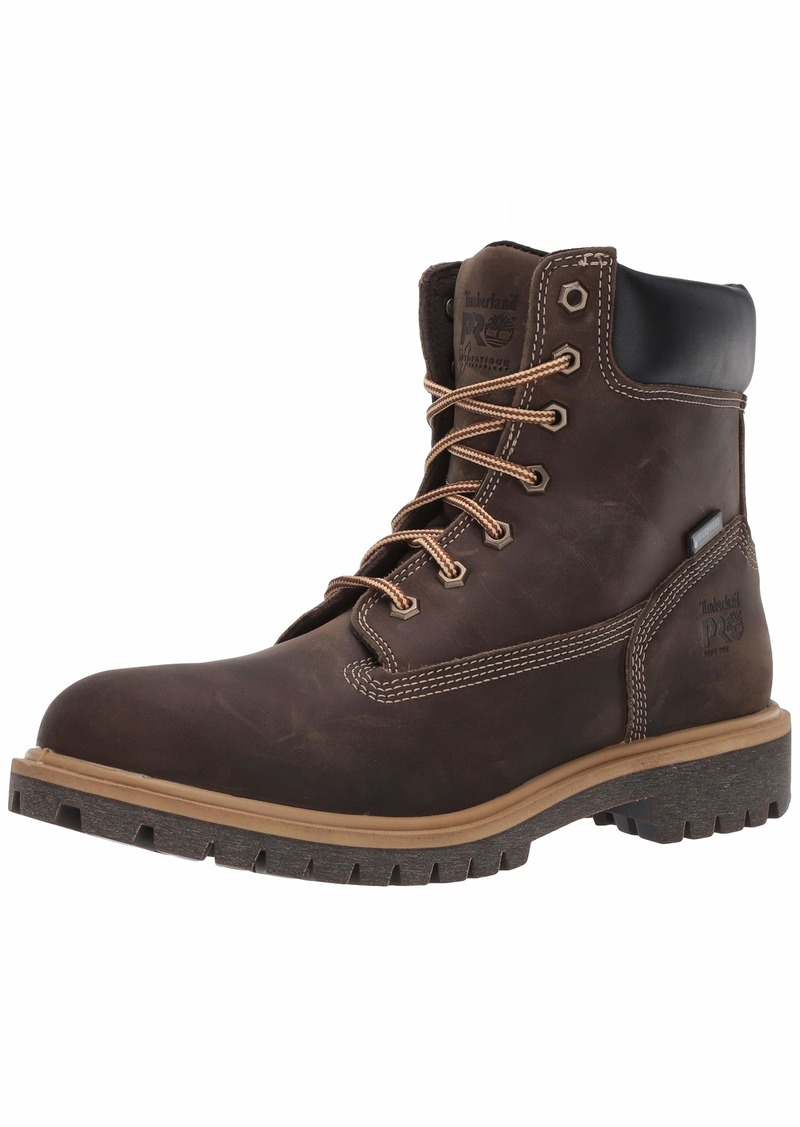 "Timberland PRO Women's Direct Attach 6"" Soft Toe Insulated Waterproof Industrial Boot turkish coffee"
