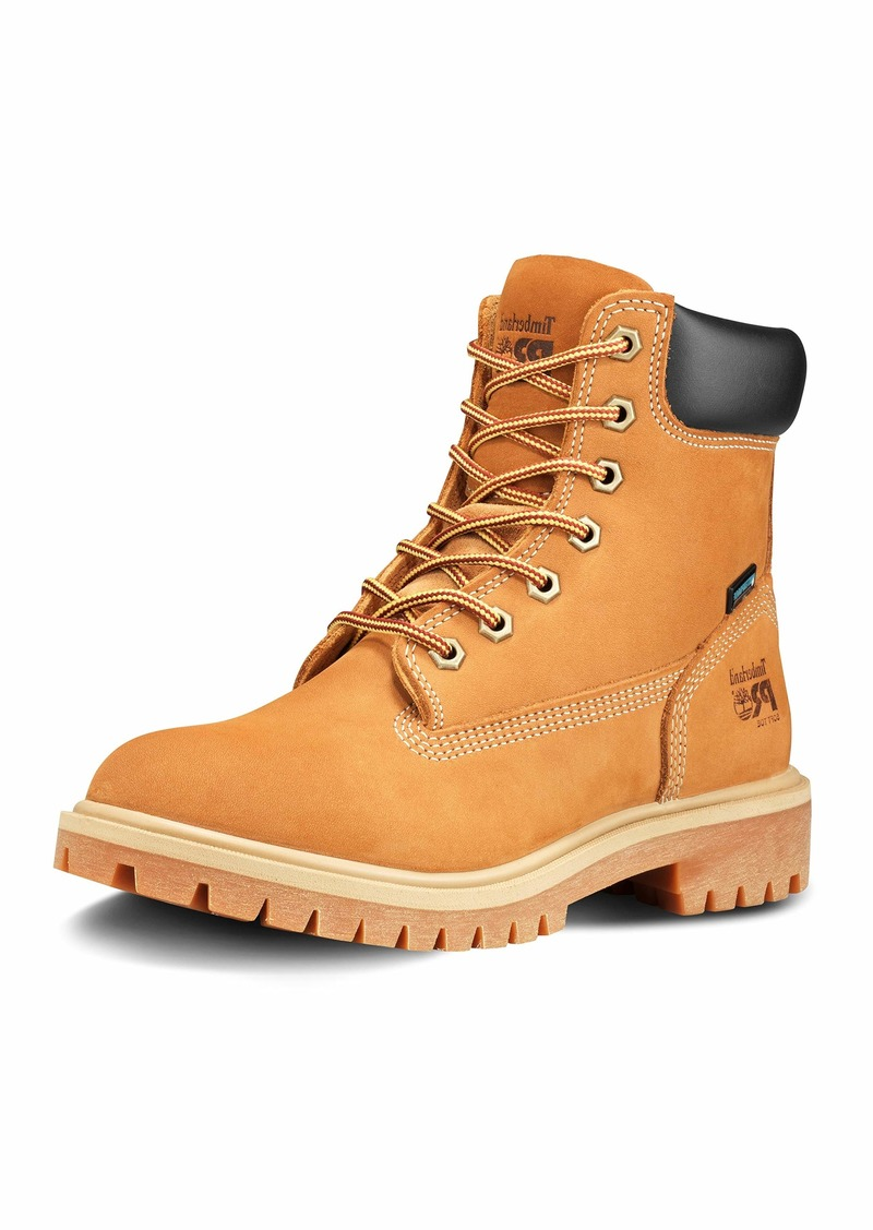 """Timberland PRO womens Direct Attach 6"""" Soft Toe Waterproof Industrial Boot  6.5 US"""