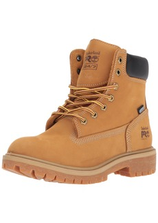 "Timberland PRO Women's Direct Attach 6"" Steel Toe Waterproof Insulated Industrial & Construction Shoe   M US"