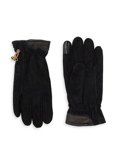 Timberland Men's Seabrook Leather and Suede Gloves