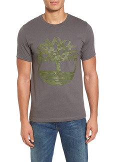 Timberland Textured Camo Graphic T-Shirt