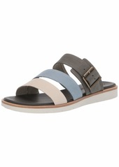 Timberland Women's Adley Shore Slide Summer Flat Sandals   Medium US