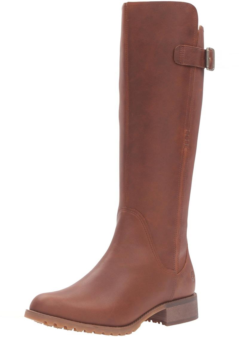 Timberland Women's Banfield Tall Medium Shaft Waterproof Riding Boot   M US