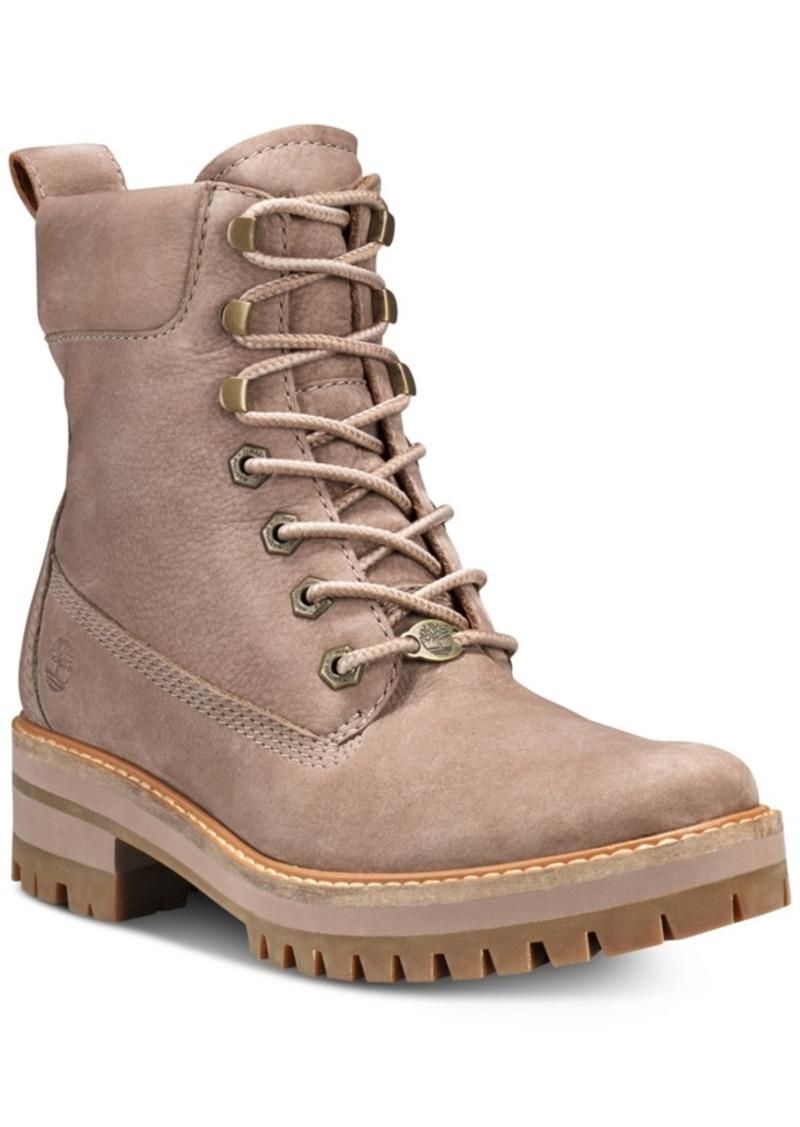 Timberland Women's Courmayeur Valley Lug Sole Boots Women's Shoes