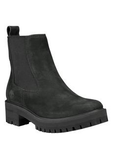 Timberland Women's Courmayeur Valley Lug Sole Chelsea Boot Women's Shoes