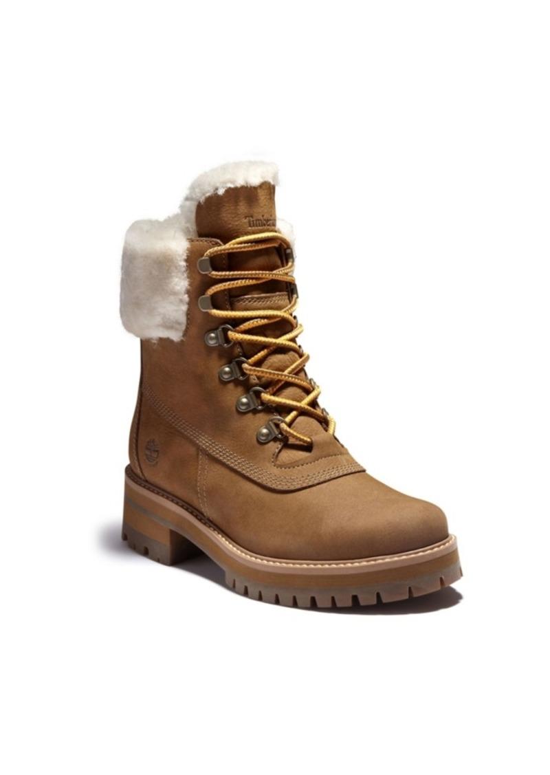Timberland Women's Courmayeur Valley Shearling Wp Boot Women's Shoes