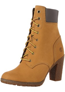 Timberland Timberland Women's Glacy Lace Up Block Heel Boots Women's Shoes from Macys | ShapeShop