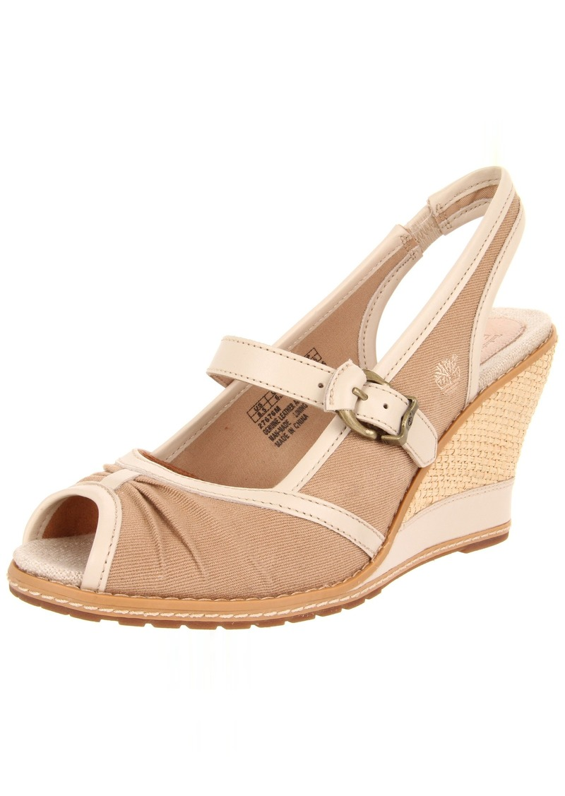 Timberland Women's Earthkeepers Maeslin Ankle-Strap Sandal SandalTan/Oyster M US