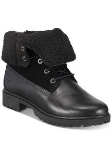 Timberland Women's Jayne Waterproof Cuffed Boots Women's Shoes