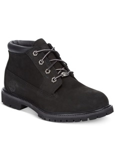 Timberland Women's Nellie Lace Up Utility Waterproof Lug Sole Boots Women's Shoes